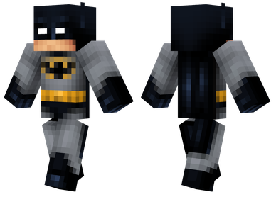 minecraft skin batman