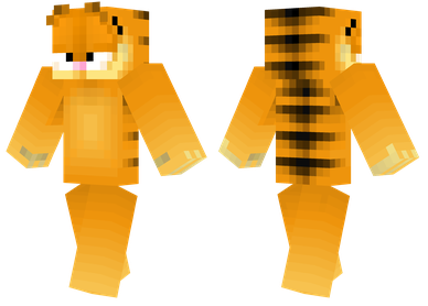 minecraft skin garfield