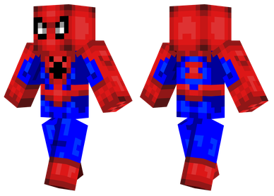 minecraft skin spiderman